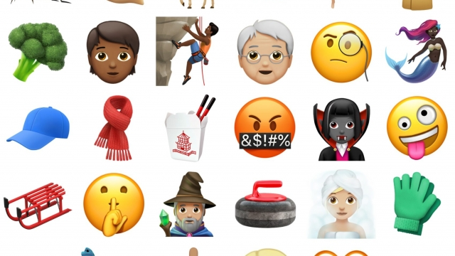 Using emoji on social media has helped us get to the point, with minimal use of characters