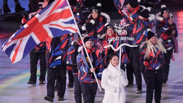 The Great Britain delegation paralympics pyeongchang 2018