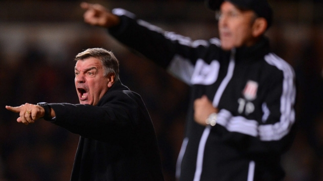 No romance, no bullshit: Sam Allardyce and Tony Pulis both found success through a relentless focus on set pieces (Getty Images)