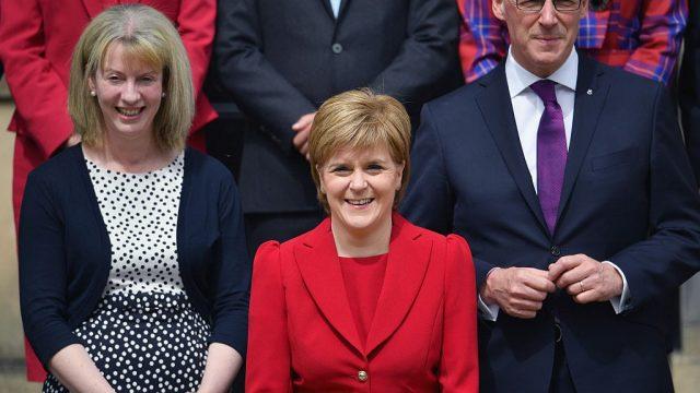 Nicola Sturgeon said she was backing her Health Secretary, Shona Robison (Photo: Getty)