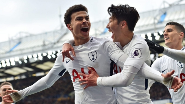 Dele Alli scored two second half goals as Tottenham came from a goal down to beat Chelsea (Getty Images)