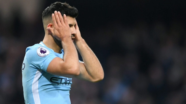Sergio Aguero bagged 21 league goals for his club last season