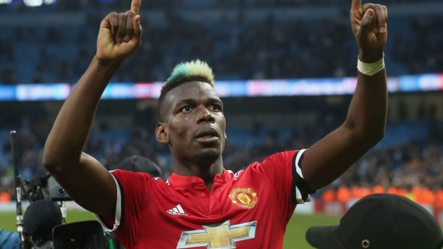 Paul Pogba was abysmal in the first half against City, and so were Manchester United. He was phenomenal in the second, and so were United (Getty Images)