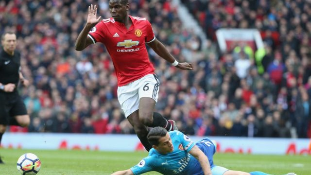Granit Xhaka of Arsenal has been heavily criticised for his role in Paul Pogba's goal by Graeme Souness.