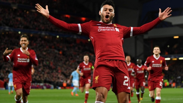 Alex Oxlade-Chamberlain scored a screamer in front of the Kop as Liverpool blew Manchester City away (Getty Images)
