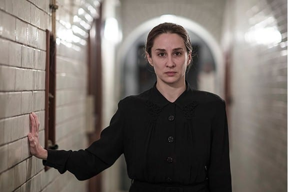 Morven Christie as a sinister maid in 'Ordeal by Innocence'. Photo: Mammoth Screen/ACL/ James Fisher