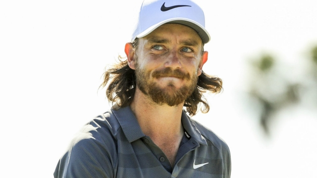 Tommy Fleetwood of England on 25 February 2018 in Palm Beach Gardens, Florida.