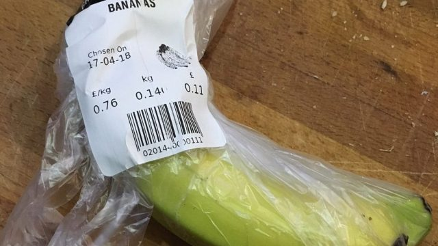 Ms Gordon thought the supermarket had made a typo when she was charged £930.11 for the 11p banana. (Photo: Bobbie Gordon/PA Wire)