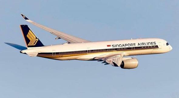 Singapore Airlines flight. Image: @singaporeair