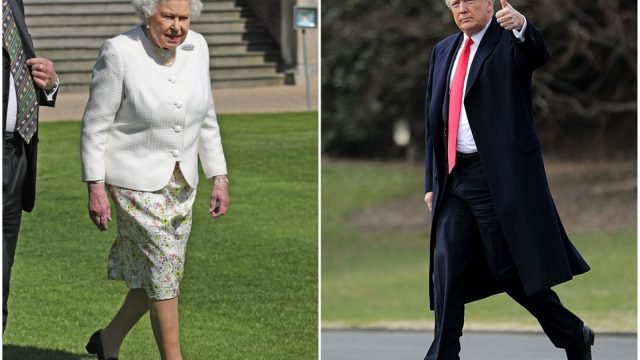 Donald Trump is expected to meet the Queen when he visits Britain in July (AFP/Getty)
