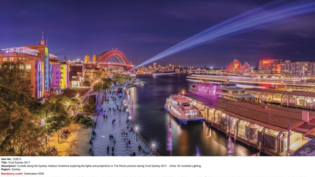 Sydney has made great use of the spaces alongside its harbour for recreation and relaxation (Photo: images.destinationnsw.com.au/order/list.me)