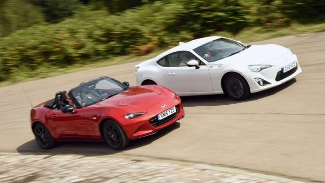 Article thumbnail: Mazda MX-5 vs Toyota GT86