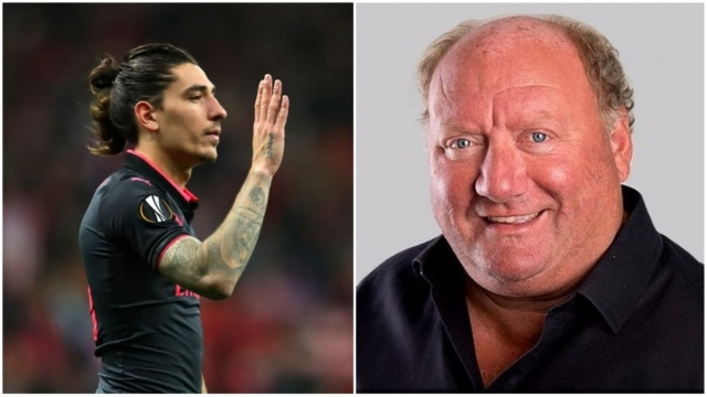 Alan Brazil (right) has been dishing out dietary advice to Arsenal defender Hector Bellerin (Photos: Getty Images/Twitter)