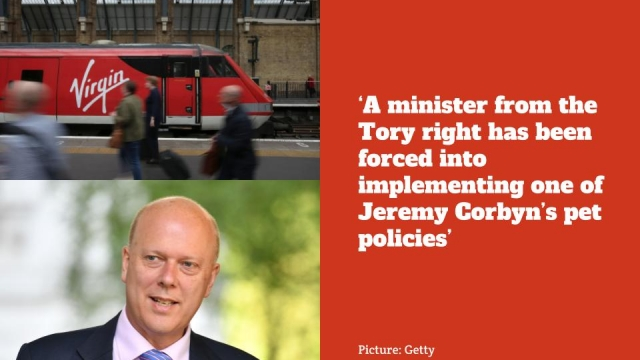The East Coast Main Line will be placed under national control until at least 2020 under plans announced by Chris Grayling. (Images: Getty)