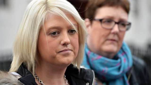 Sarah Ewart said women in Northern Ireland had been left in 'limbo' and called for the DUP to change its policy (Photo: Getty)