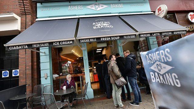Ashers Bakery in Belfast (Photo: Getty)
