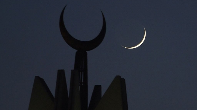 Article thumbnail: The crescent moon marks the start of Ramadan (Photo: Getty)