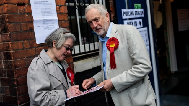 A mixed night for Labour leader Jeremy Corbyn (Getty Images)
