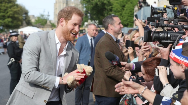 The soon-to-be new Duke of Sussex, Prince Harry (Jonathan Brady - Pool/Getty Images)