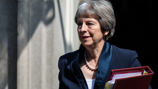 """Theresa May will not want her """"sod off day"""" to come around too soon (Jack Taylor/Getty Images)"""
