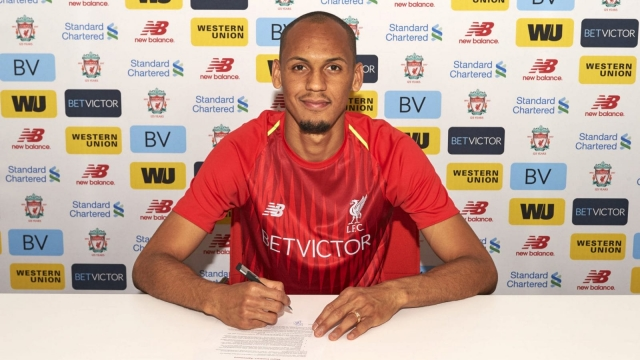 Fabinho has joined Liverpool for a reported £43.7m fee.