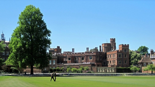 Eton school is pictured in Eton, west of London, on May 24, 2010. Photo: Guy Jackson/Getty