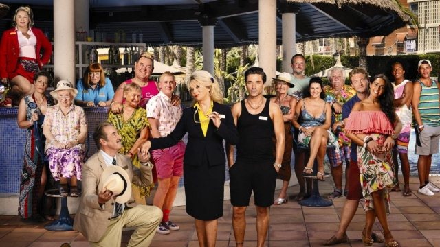 Benidorm's rotating cast has been a positive for the programme (Photo: ITV)