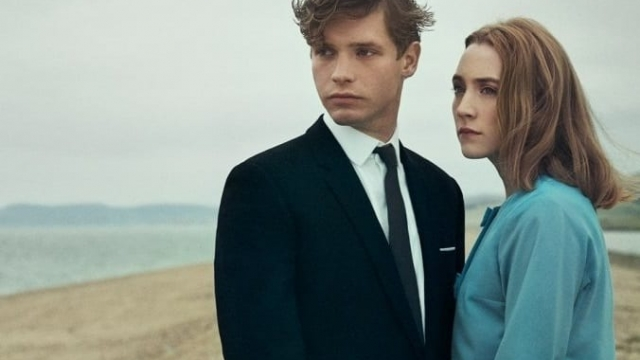 The new film, an adaptation of Ian McEwan's novel, tells the story of Edward (Billy Howle) and Florence (Saoirse Ronan) as they embark on their honeymoon. (Image: Bleecker Street)