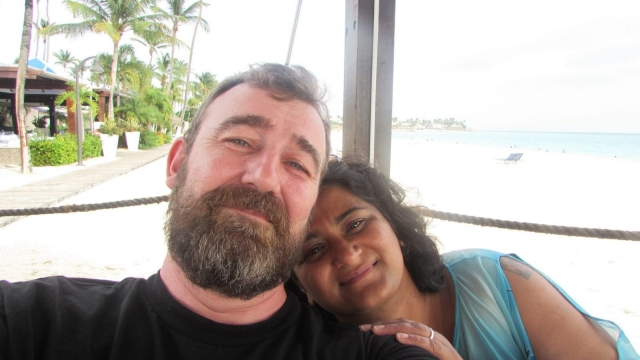 Tania and her husband Gary