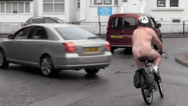 The World Naked Bike Ride last took place in Hastings in 2015
