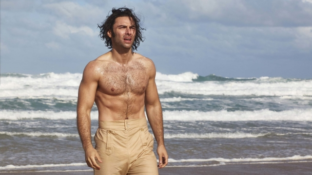 Aidan Turner as Poldark in the first episode of series four. Photo: Mammoth Screen