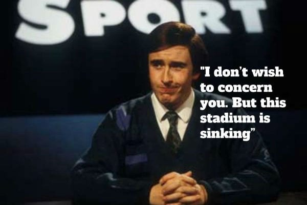 Alan Partridge Day Today commentary