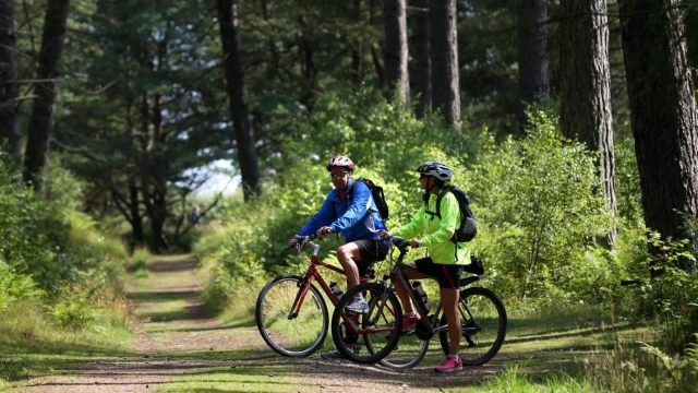 Aerobic exercise, such as cycling, can reduce your levels of cortisol, the 'stress hormone'.
