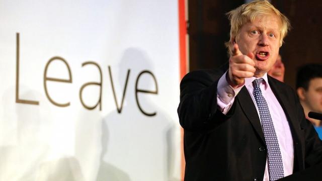 Boris Johnson has called for a full british brexit