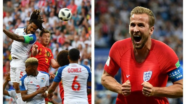 England and Panama will face each other in the World Cup Group G match on Sunday. (Getty Images, edited by i Paper Sport)