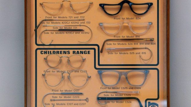 """NHS patients were offered ten different styles of glasses available via the health service. But initial huge demand eventually gave way to social stigma as """"NHS specs"""" became identified with poverty. (Photo: Getty)"""