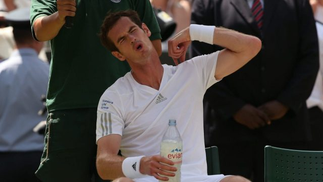 Andy Murray has not played a competitive match since last summer (Getty)