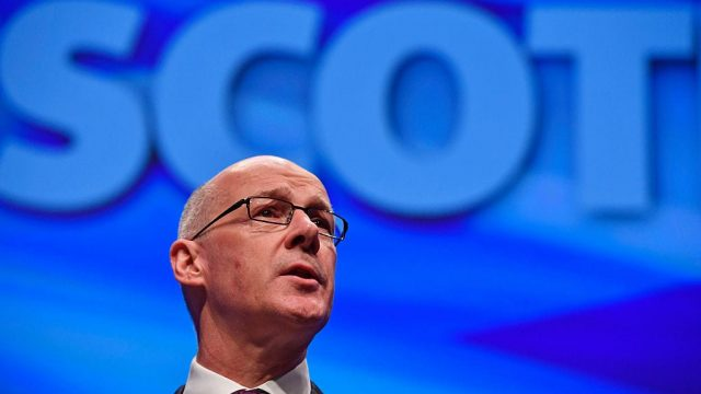 John Swinney hailed 'real progress' in closing the attainment gap earlier this week (Photo: Getty)