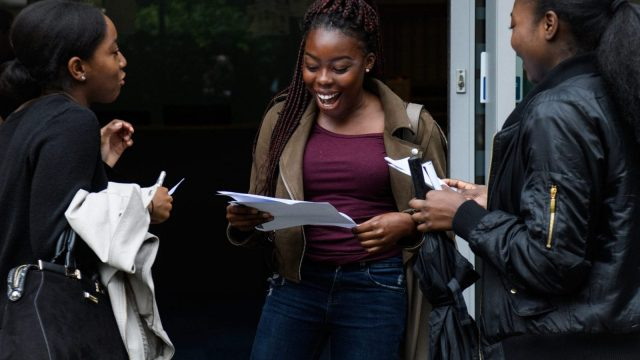 A-level students will find out whether they've gained the right grades to attend university in August