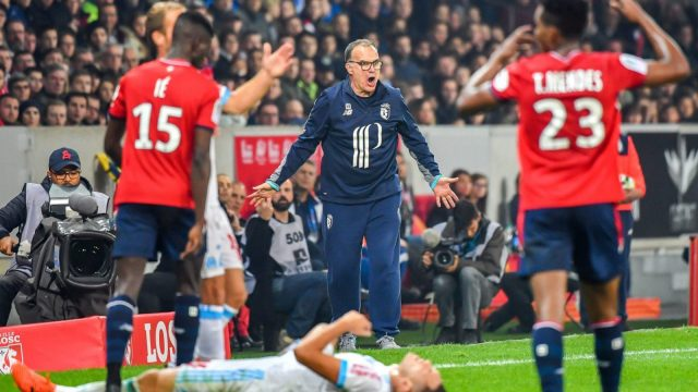 Marcelo Bielsa endured a rocky tenure as manager of Lille in France's Ligue 1.