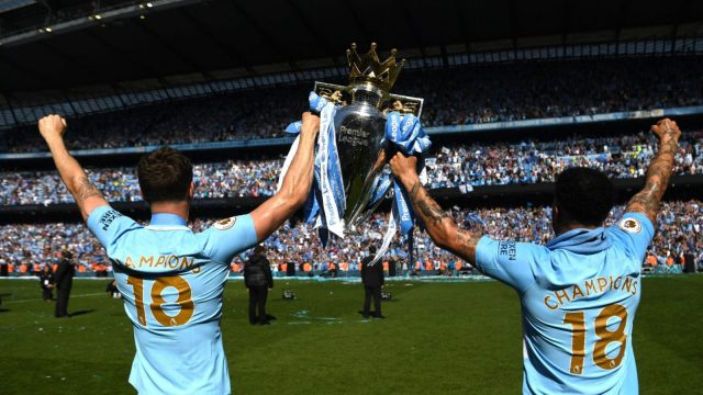 After a tough opening weekend fixture against Arsenal away, Manchester City have a prime opportunity to build momentum in the 2018/19 Premier League campaign with fixtures against Huddersfield, Wolves, Newcastle and Fulham following. (Getty)