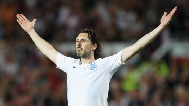 Blake Harrison scored the winning penalty for England in Soccer Aid 2018