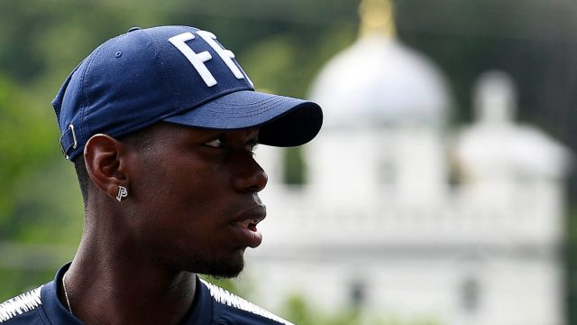 France coach Didier Deschamps is a keen advocate of Pogba, though he wrestles with the same eccentricities as Jose Mourinho at Manchester United (Getty Images)