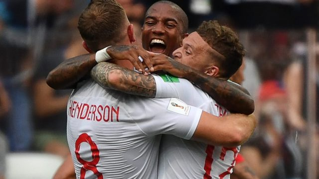 This is the most ethnically diverse squad ever to represent England at a World Cup: 11 out of 23 players are not white (Getty Images)