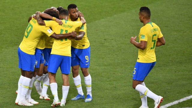 Article thumbnail: Brazil are through to the last 16 of the World Cup after a win over Serbia. (Getty Images)