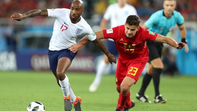England suffered defeat against Belgium (Getty)