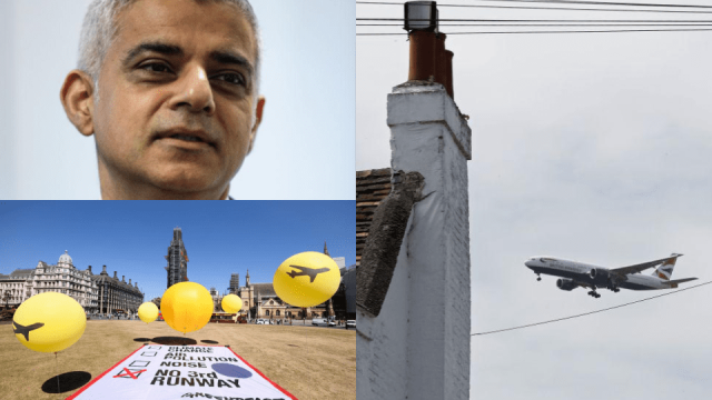 London mayor Sadiq Khan and Greenpeace have teamed up with four London councils for the challenge (Photo: Getty)