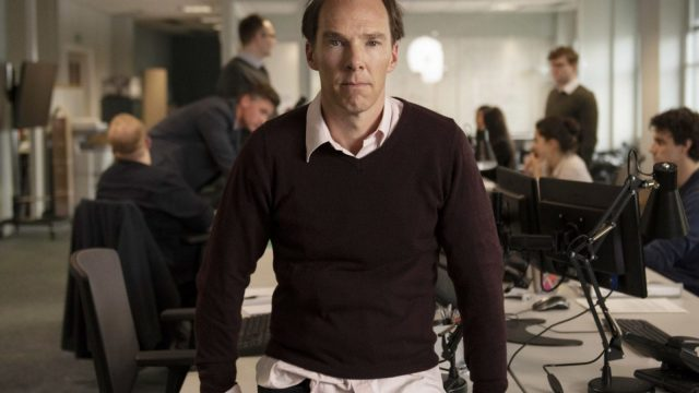 Benedict Cumberbatch in Brexit: the Unicivil War Photo: (Channel 4)