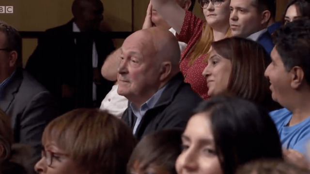 The audience member who suggested the UK needs a Donald Trump (BBC)