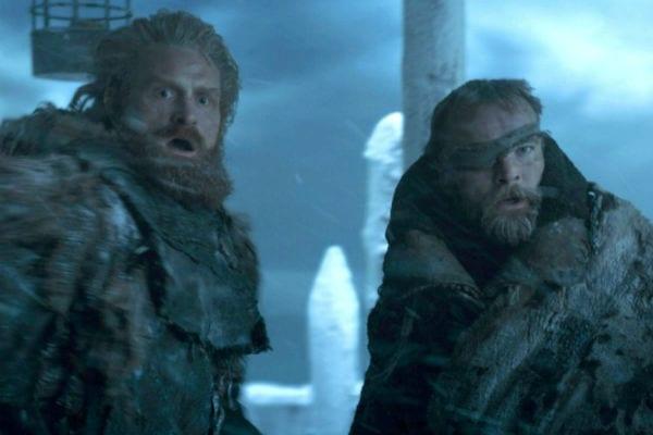 Tormund Beric Game of Thrones
